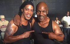 Ronaldinho, dal pallone al cinema: farà un film con Tyson e Van Damme - http://www.maidirecalcio.com/2016/06/03/ronaldinho-cinema-tyson.html