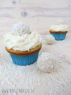 Raffaello Cupcakes   Foodblog rehlein backt