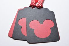 Mickey Mouse Party Decoration, Mickey Mouse Gift Tags, Disney Theme, Party…