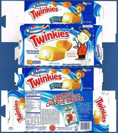 Hostess Snack boxes | Hostess Twinkies - Charlie Brown - December 2005 | Flickr - Photo ...