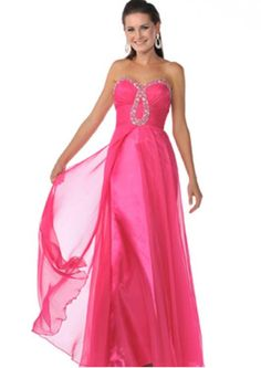 Fuschia Sweetheart Chiffon Prom Dress Prom Gown Full Prom Dresses | Buy Wholesale On Line Direct from China