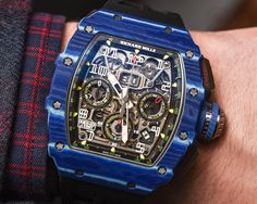 Richard Mille is a 'luxury sensation' brand and we go hands-on with the RM Jean Todt Anniversary watch. Richard Mille, Cool Watches, Rolex Watches, Most Popular Watches, Elegant Watches, Casual Watches, Tourbillon Watch, Watch Blog, Expensive Watches