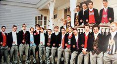Prince William at Eton photo