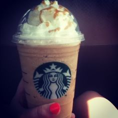Im addicted to starbucks frapps!! :))) #starbucks #drinks
