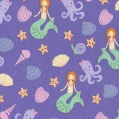 Jack and Lulu - Bay Breeze - Under the Sea in Purple