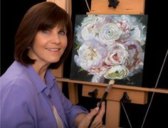 Bridal Bouquet Paintings by Pat Fiorello I can create a beautiful, meaningful and lasting gift of love for you. An original oil painting of your bridal bouquet.Learn more at: http://patfiorello.com/wedding_bouquet