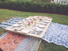 an end of summer dinner party
