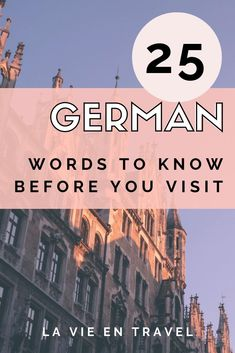 Visit Germany and fit in like a local - Use these German phrases (with pronunciation) to travel Germany like a pro and have the best German vacation! Berlin Travel, Budapest Travel, Germany Travel, Visit Germany, Berlin Germany, Munich, German Language Learning, Spanish Language, Learn German