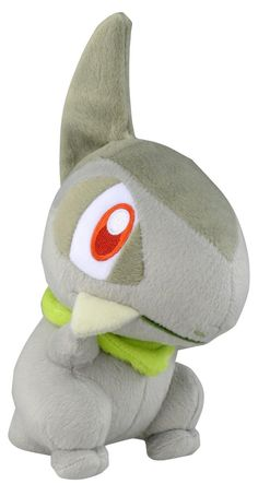Takaratomy Best Wishes Pokemon Diamond & Pearl Plush Stuffed Toy - Kibago/Axew 8""