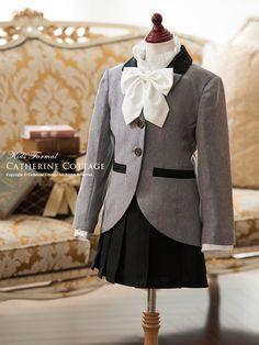 07a975aaa4d35 子供ドレスのキャサリンコテージ《本店》ワンピース・スーツ・フォーマル靴   入学式スーツ ロングジャケット+プリーツスカートスーツセット  ジャケット  スカート ...