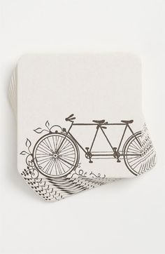 Tandem Bike Coasters Set Of 10 Nordstrom