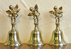 guests could use hand bells at the tables to kiss instead of tapping the glass