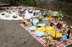 Decoração artesanal para festa infantil feita pela Festinhas Manuais (crédito da foto: Festinhas Manuais)