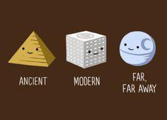 Ancient - Modern - Far, far away