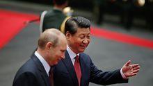 Staatsbesuch: Putin bemüht sich um China