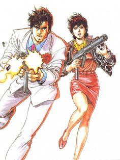 Tsukasa Hojo, City Hunter, Kaori Makimura, Ryo Saeba