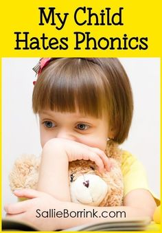 Most people will say that phonics instruction is a critical part of a child's learning success. But what if your child hates phonics? What do you do when phonics causes problems in your homeschool? There are reasons why some children do not respond well to phonics instruction. Here is what I discovered and what we did about it.