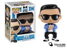 Hilarious and terrifying in equal measure - PSY Gangnam Style Vinyl Toy