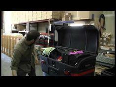 StowAway Max Cargo Carrier Capacity - YouTube