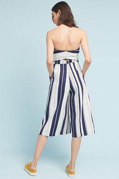 Slide View: 4: Savannah Striped Jumpsuit