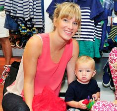 Heather Morris and her son Elijah. Thank you heather for giving him a normal name!
