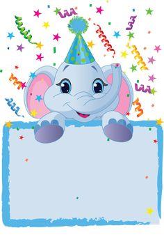 Baby Elephant Birthday by Anna Velichkovsky, via Dreamstime