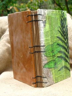 Check out this item in my Etsy shop https://www.etsy.com/listing/201744370/fern-gardening-journal-photo-album