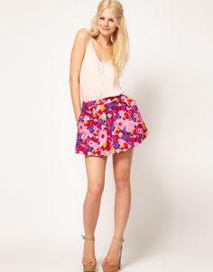 falda @asos.com floral