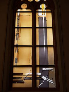 Description: Heidelberg, Germany: Peterskirche: Persecution (Verfolgung) (2006, artist Johannes Schreiter)