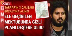 """Sarraf'ın ABD'de tutukluyken yolladığı 'elyazısı' talimatlar ele geçirildi: Rıza Sarraf'ın Türkiye'deki üç çalışanı gözaltına alınırken, ABD'de tutukluyken yolladığı 'elyazısı' talimatlar da ele geçirildi. Bir notta Rıza Sarraf """"ABD'de savcılarla işbirliği yapıp tahliye olduktan sonra Dubai'de oturum izni için avukatlarla görüşülmesini"""" istiyor."""
