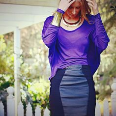 Purple & Leather blog post up now!  Photography by Josephine Wilcox