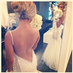such a lovely bride picture! would maybe add the maid of honor