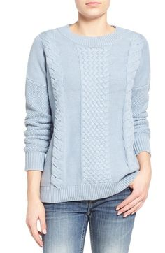 Rhythm 'Fleetwood' Cable Knit Sweater available at #Nordstrom