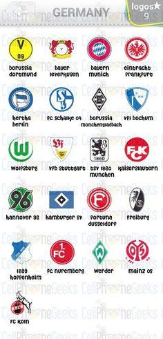 Level 2 – Logo Quiz Football Clubs Germany Answers Sc Freiburg, Hamburger Sv, Bike Gloves, Work Gloves, Dan, Video Games, Germany, Football, Club