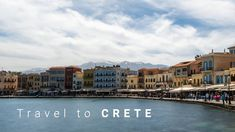 Experience a trip to Crete. This large Greek island is located in the south of Greece and are very popular among turists due to it's warm clima, interesting… Crete, Greek Islands, Filmmaking, Street View, Travel, Greek Isles, Cinema, Viajes