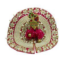 Beautiful Pink Laddu Gopal Dress