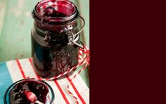 Blackberry Jam- used this but with no sugar needed pectin and 4.5 cups of sugar