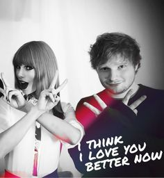 Taylor swift & ed sheeran! They would be such a awesome couple