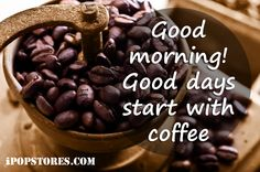 Good morning. Good days start with coffee. #monday #goodmorning #coffee #coffeelove #coffeelovers #coffeeshop #coffeebreak #coffeebeans #coffeebags #coffeebrewer #coffeemaker #coffeemug #coffeemonday #coffeemachines #coffeemania #morning #morningcoffee #morningmotivation #morninginspiration #food #foodfinds #foodfinder #delicious #ipopstores