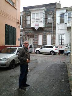 Alsancak sokaklari tarihi evler