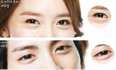 OSTOLAKOSSA: Etelä-Koreassa meikataan kasvoille silmäpussit. Aegyo-sal eli charming fat –silmäpussilookki on suosittu, sillä silmäpussit koetaan nuorekkaan leikkisinä ja positiivisena asiana.