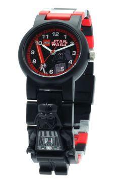 LEGO Star Wars Darth Vader Minifigure Link Watch