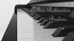 Arthur Rubinstein - Brahms Rhapsody Op. 79, No. 1, in B minor, via YouTube.