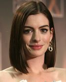 Anne Hathaway- what I'd like mine to grow into-classy but can do beachy waves too