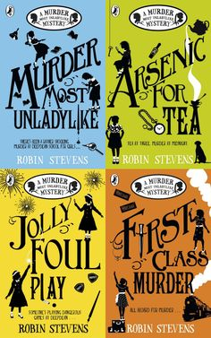 A Murder Most Unladylike - murder mystery activity Best Mystery Books, Murder Mystery Books, Mystery Novels, Murder Mysteries, Cozy Mysteries, I Love Books, Good Books, Books To Read, Reading Lists