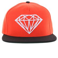 Diamond Supply Brilliant Snapback Hats Orange 1644 6655123c4a3b
