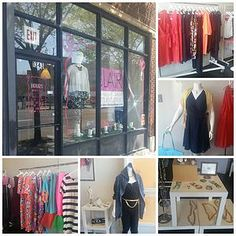 Blog post about local midwest plus size boutique Blair Fashion.