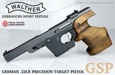 Walther GSP .22LR Precision Target Pistol