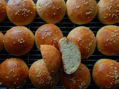 Bread and Focaccia – Awfully Tasty Butter Roll, Hamburger, Rolls, Cooking Recipes, Tasty, Bread, Food, Bread Rolls, Eten