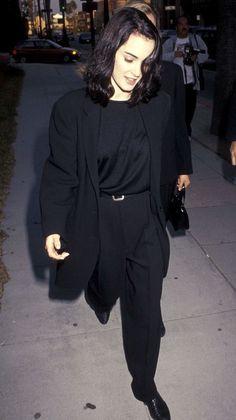 winona ryder (dep)dress(i)on пиджак,вайнона райдер ja с Grunge Look, Grunge Style, 90s Grunge, Soft Grunge, Grunge Outfits, Winona Ryder 90s, Winona Ryder Style, Style Année 90, Love Her Style